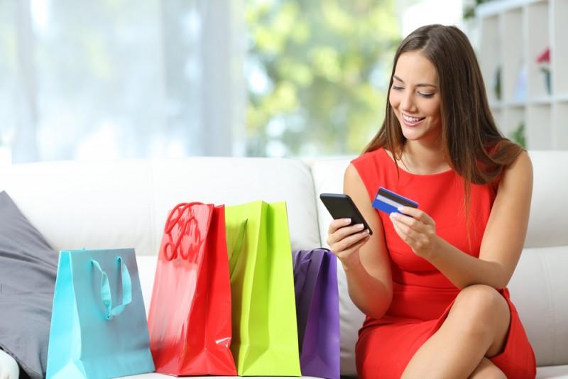 Online shopping goes mobile(Shutterstock )