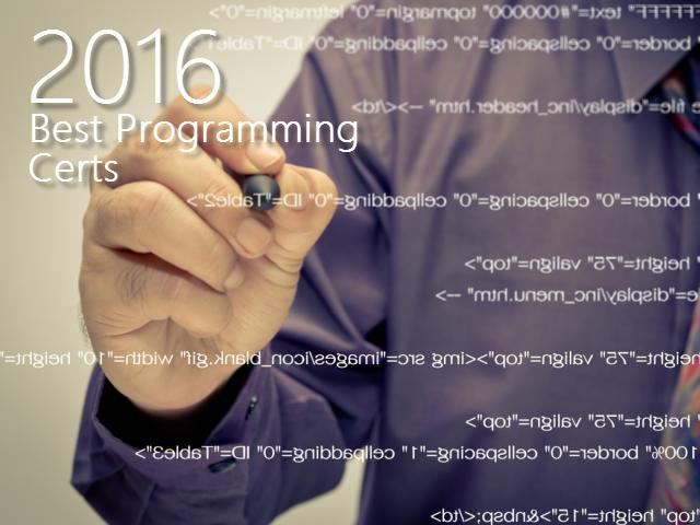 2016-best-programming-certs